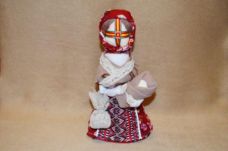 Кукла мотанка На здоровье своими руками