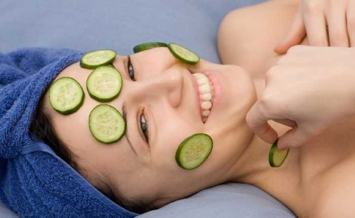 Польза огурца для кожи лица