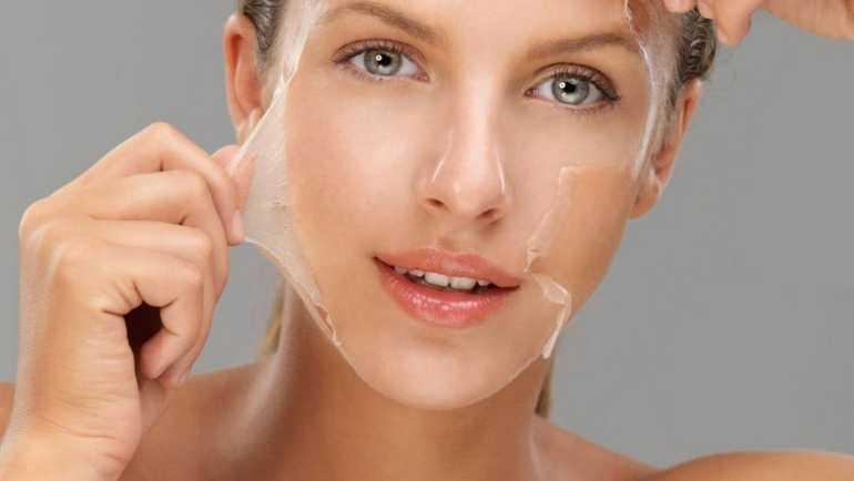 Желатиновые маски для лица от морщин