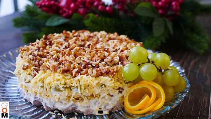 Мясной салат от Ольги Матвей