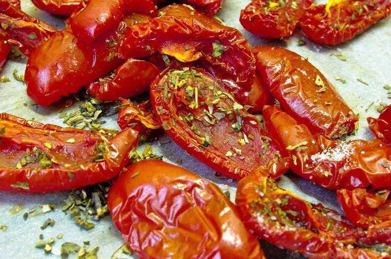 Как заготовить вяленые помидоры