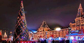 Елка в Москве