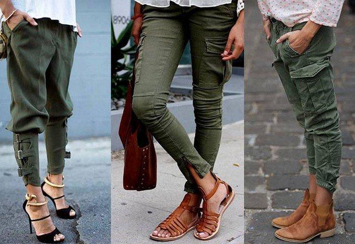 Как и с чем носить женские брюки: