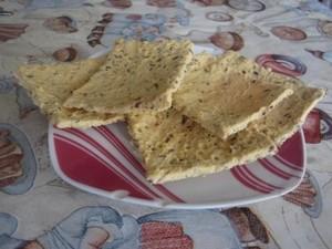 Нутовые хлебцы