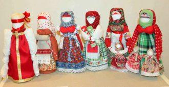 Куклы славянские