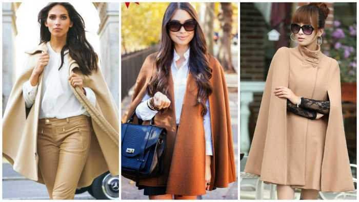 Как самостоятельно сшить кейп-пальто или кейп-платье
