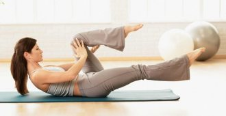 Упражнения в стиле пилатес