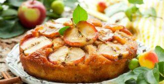 рецепты домашнего пирога с яблоками