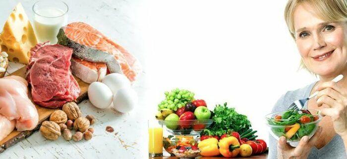 здоровое питание при климаксе