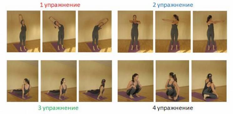 Упражнения для пракшаланы