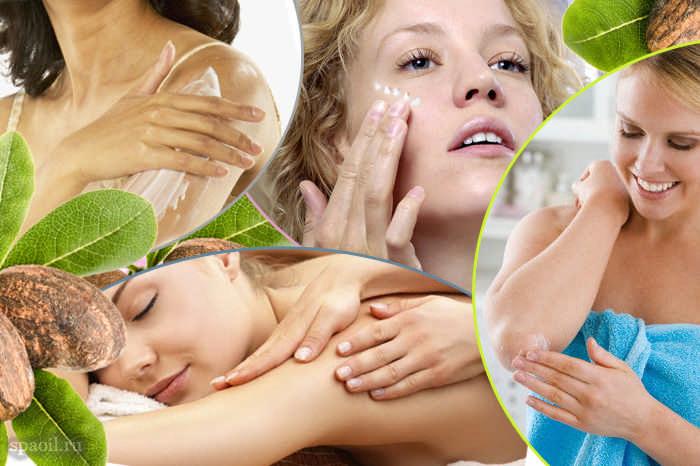 Способы применения масла ШИ и рецепты для лица, волос и тела