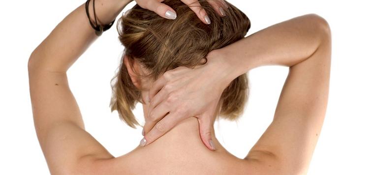 как делать массаж шеи