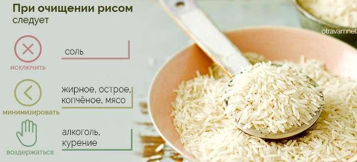 Как правильно проводить очищение организма рисом