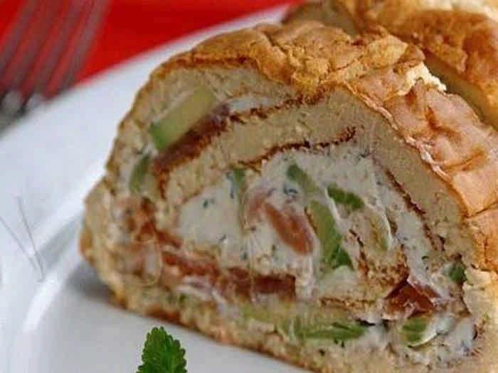 Бутерброды рулеты