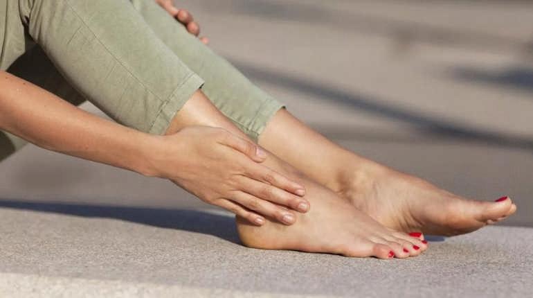 Онемение ног