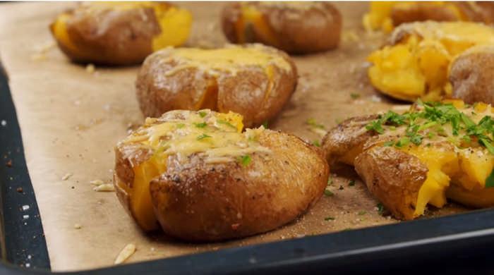 Давленный картофель