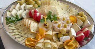Как сделать сырную тарелку