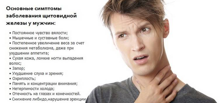 Гипотериоз у мужчин