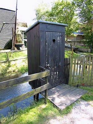 Туалет в Голландии
