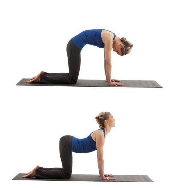 Упражнение от боли в спине