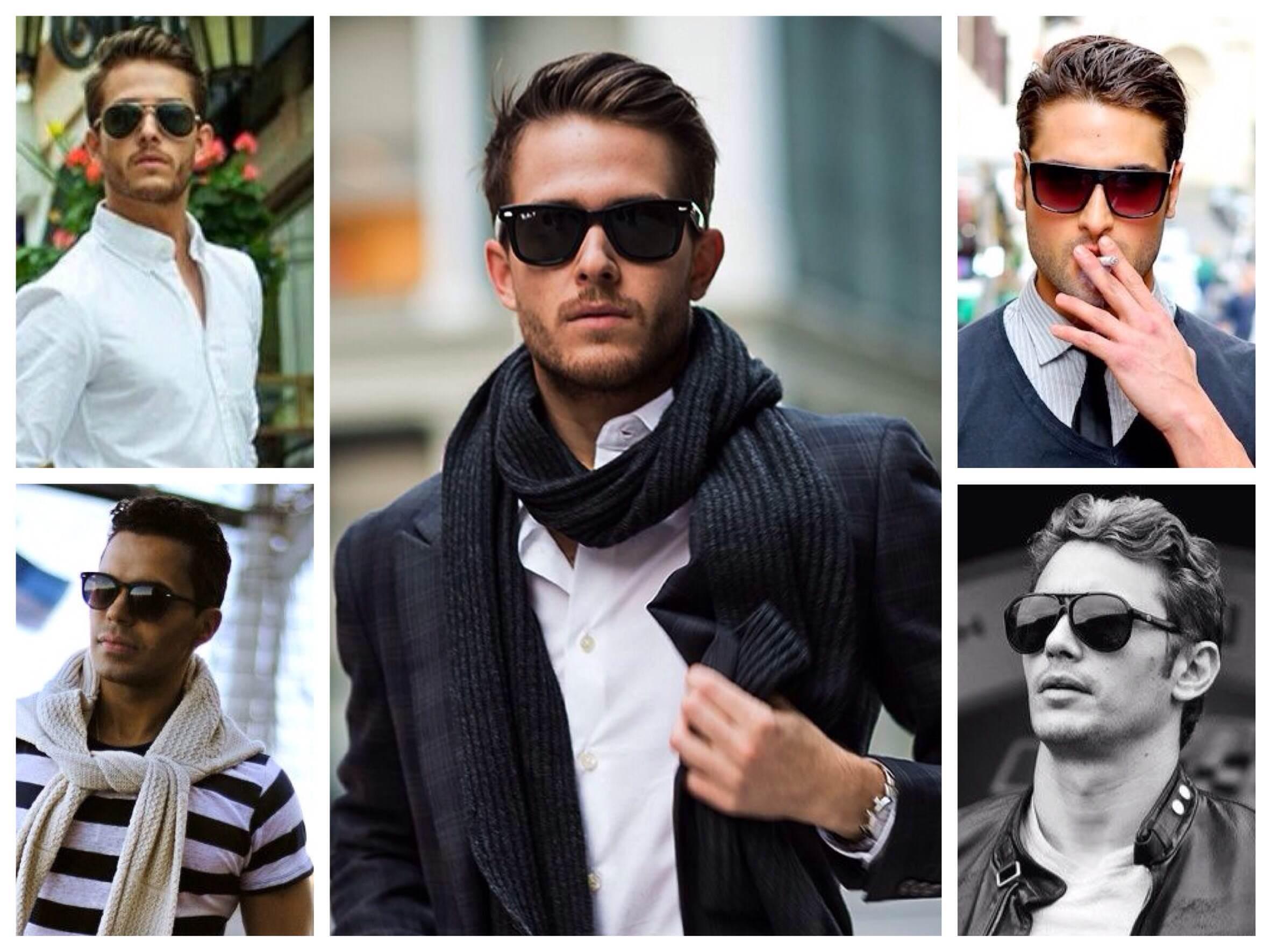 Мужские солнцезащитные очки  основные тренды сезона 6d2e98565d4c1