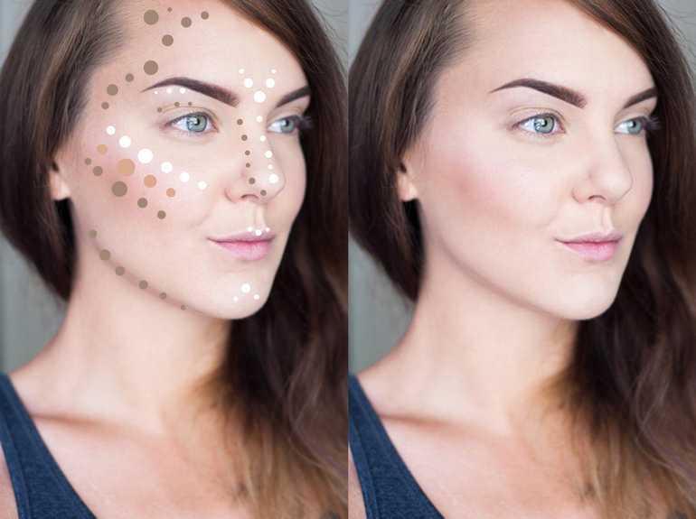 Как сделать скулы на лице
