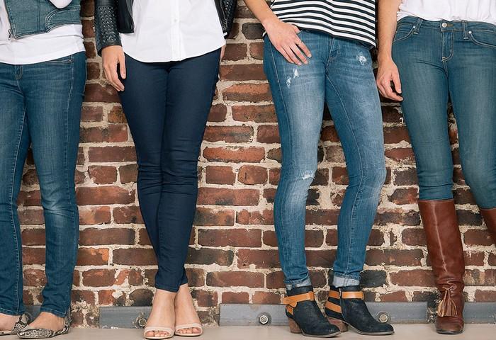 С какой обувью носить джинсы— фото и правила стиля для женщин