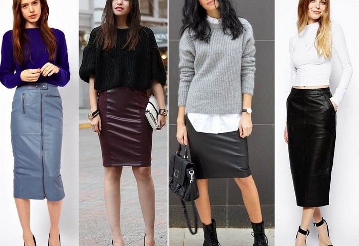 Как и с чем носить юбку карандаш: тенденции моды