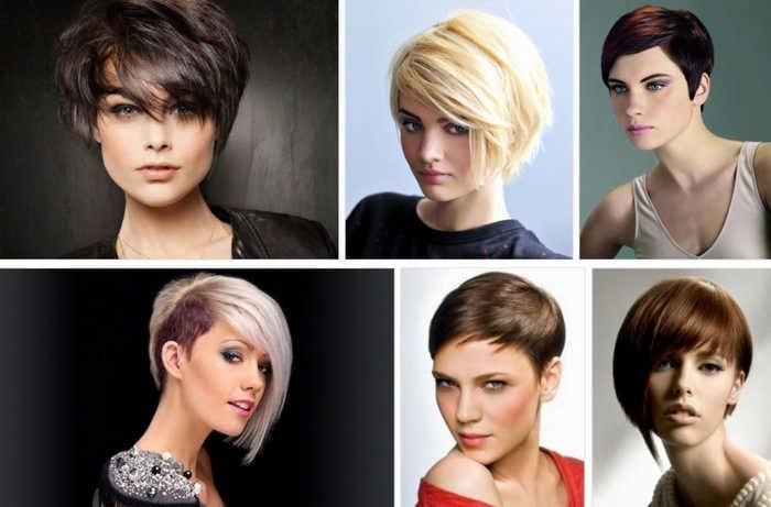 Как подобрать идеальную прическу для коротких волос по форме лица