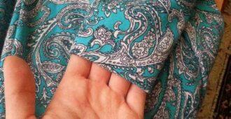 как подшить платье вручную