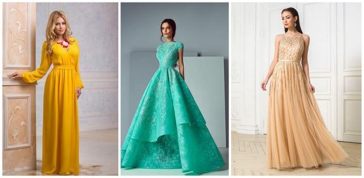 Модные фасоны платьев на Новый год по фигуре: фото и советы стилистов