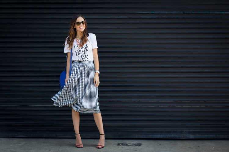 Как быстро сшить юбку без выкройки