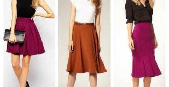 как подобрать юбку по фигуре