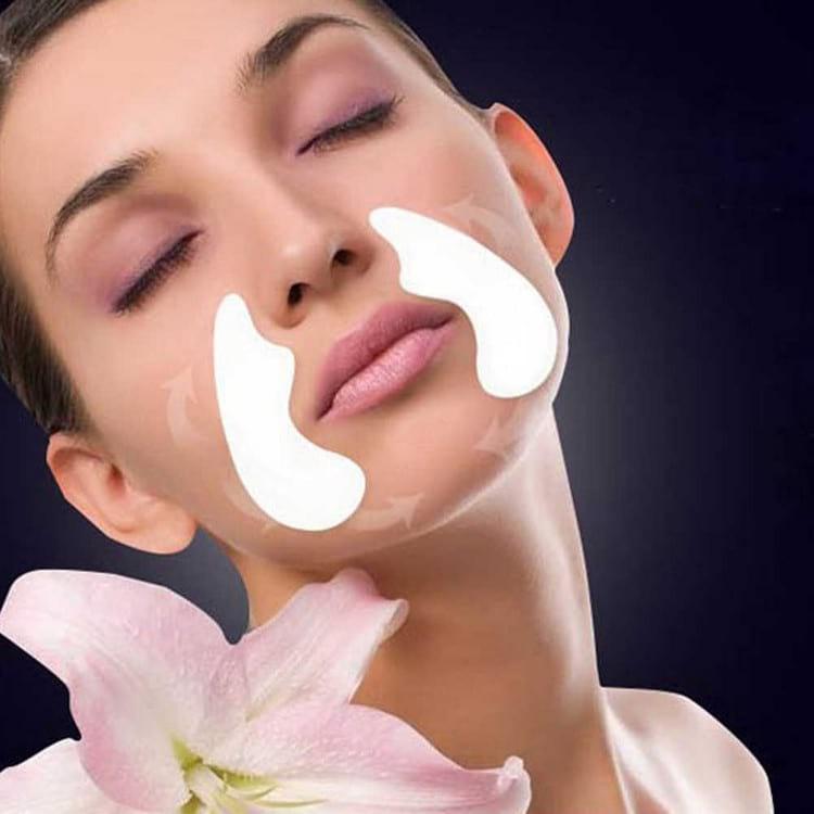 Как убрать носогубные морщины: упражнения, массаж, патчи и маски