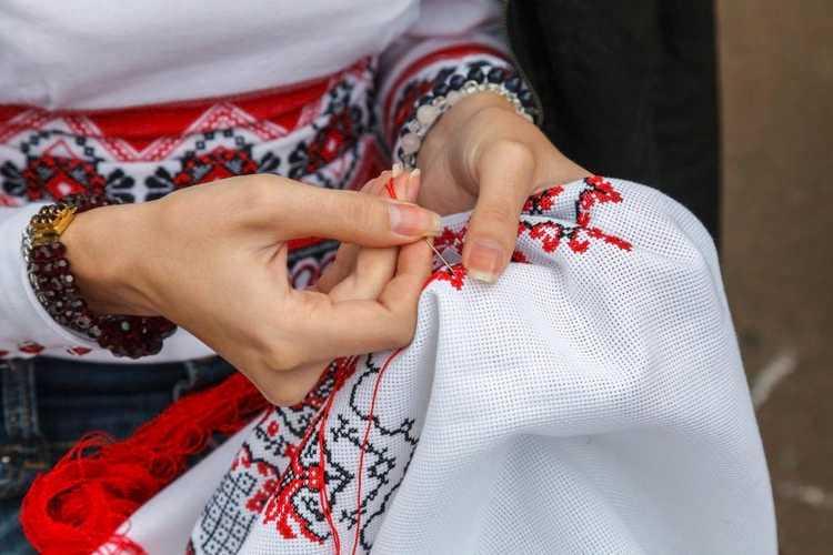 виды вышивки