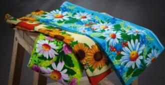 Как отстирать кухонные полотенца, чтобы стали как новые