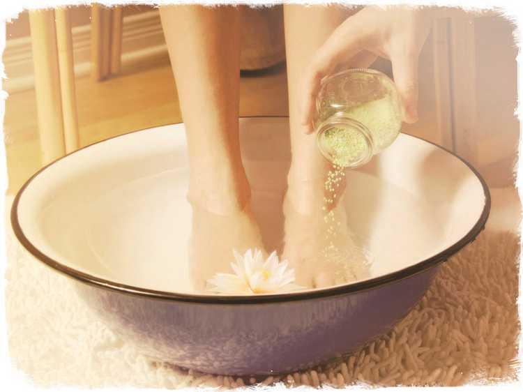 Как парить ноги с горчицей