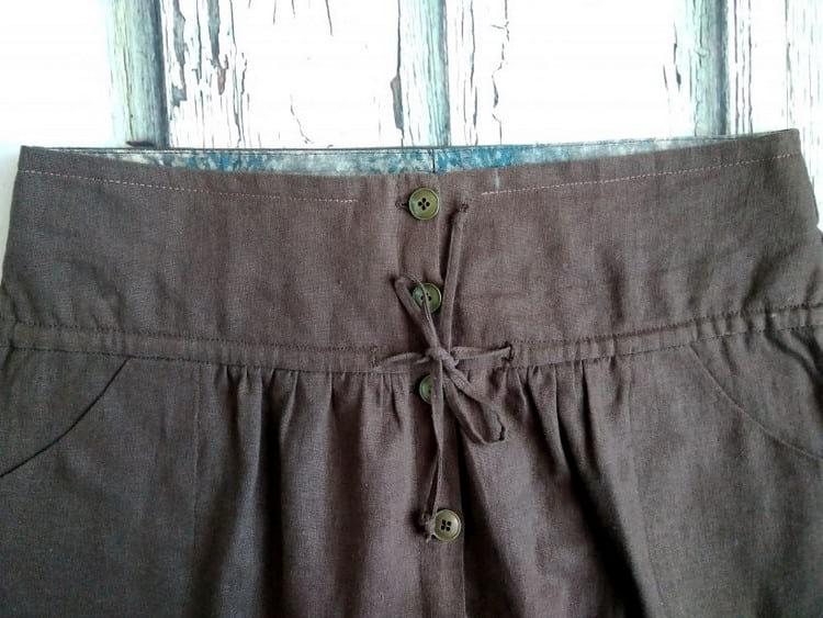 Как ушить юбку