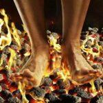 почему горят стопы