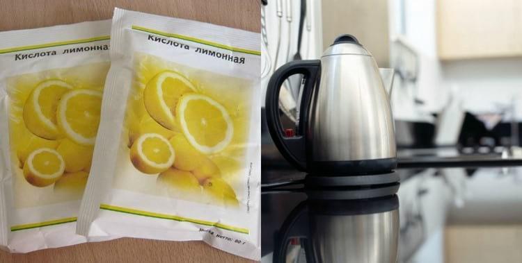 Применение лимонной кислоты в быту