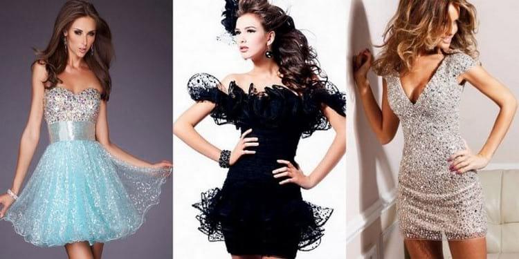 Модные фасоны платьев на Новый год по фигуре