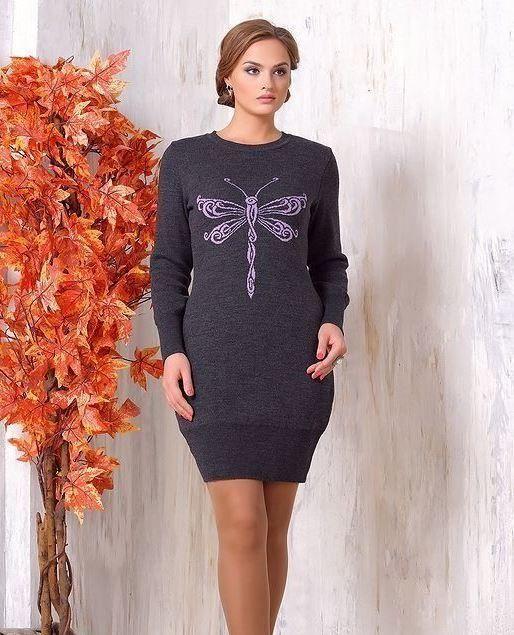 Как выбрать зимнее шерстяное платье?