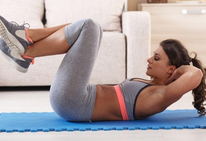 8 эффективных упражнений для похудения в области талии и боков