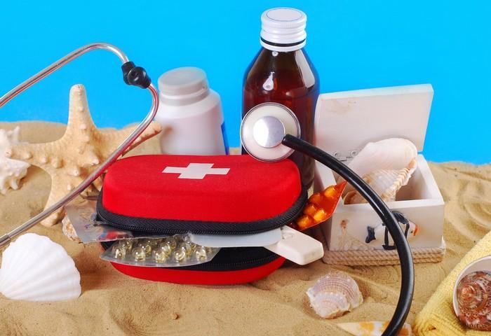 Аптечка в отпуск на море: берем самое необходимое