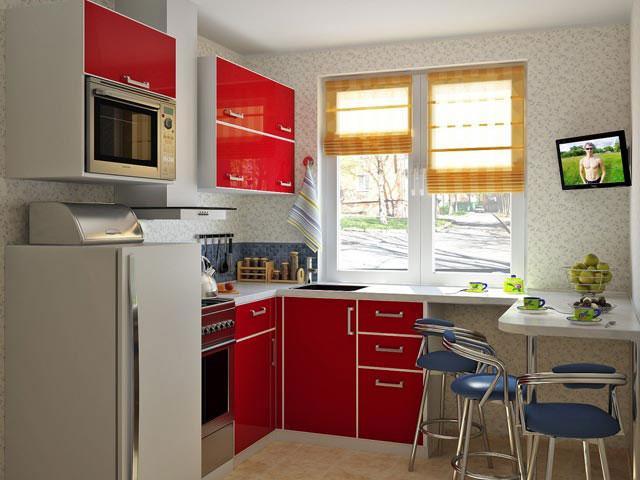 Как обустроить маленькую кухню самостоятельно