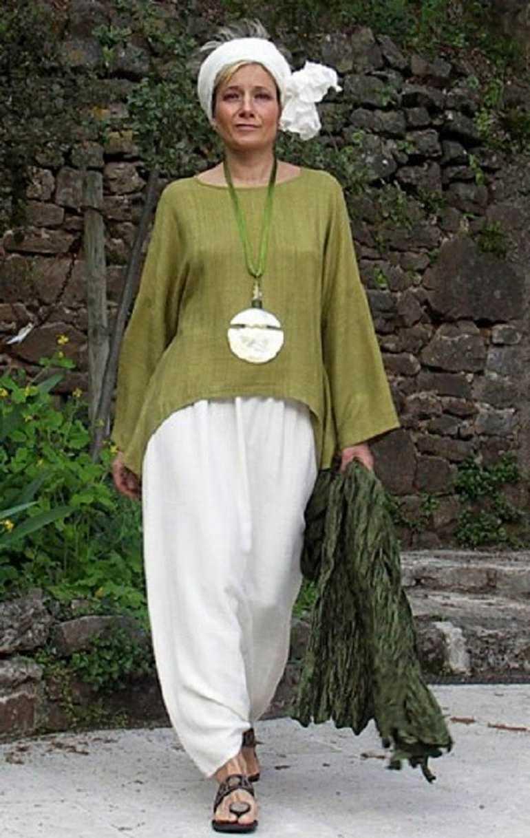 Стиль бохо для женщин после 50: фасоны, цвета, выкройки