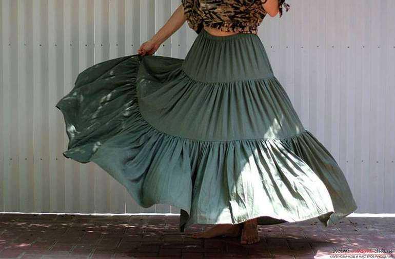 как сшить юбку на резинке без выкройки