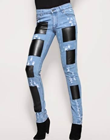 Как красиво и аккуратно зашить джинсы на коленке вручную и на машинке