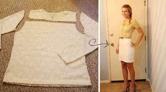 Как быстро сшить юбку без выкройки начинающей портнихе