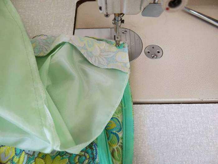 Мастер-класс, как вшить потайную и открытую молнию в юбку любого фасона